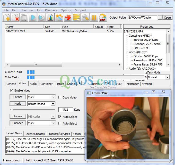Mediacoder for Xanax haute dose